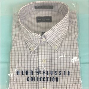 Men's Alan Flusser Dress Shirt NWOT's